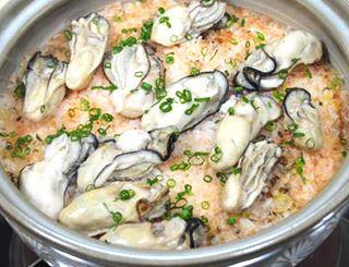 土鍋 牡蠣 ご飯 カキご飯のレシピ・作り方
